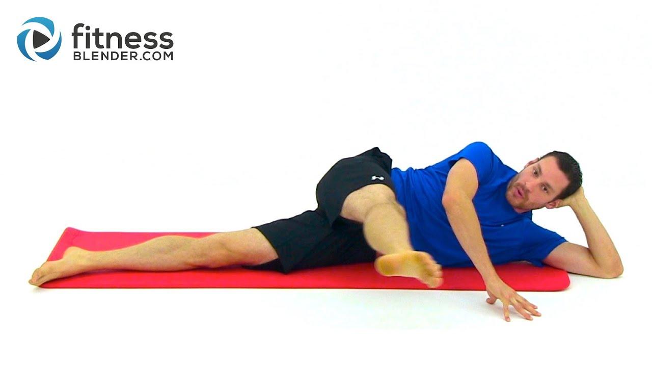 Comprehensive Pilates Leg Workout Fitness Blender