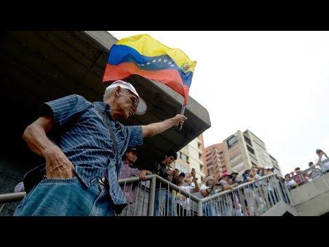 Dramática situación en Venezuela.