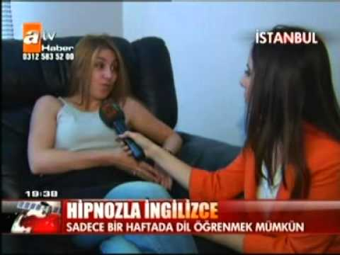 Hipnozla ingilizce-ZAFER CİN atv anahaber bülteni
