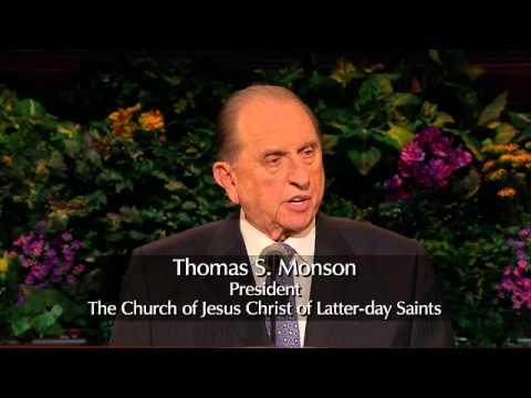 La obediencia trae bendiciones   Por el presidente Thomas S  Monson   Abril 2013