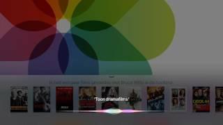 Siri op Apple TV in Nederlands: Films