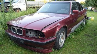 Starting 1993 BMW E34 525TD After 1 Year
