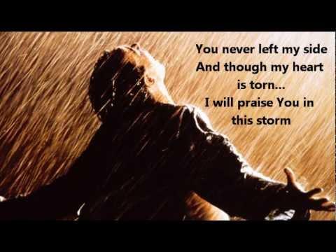 Praise You In This Storm (w/ Lyrics)