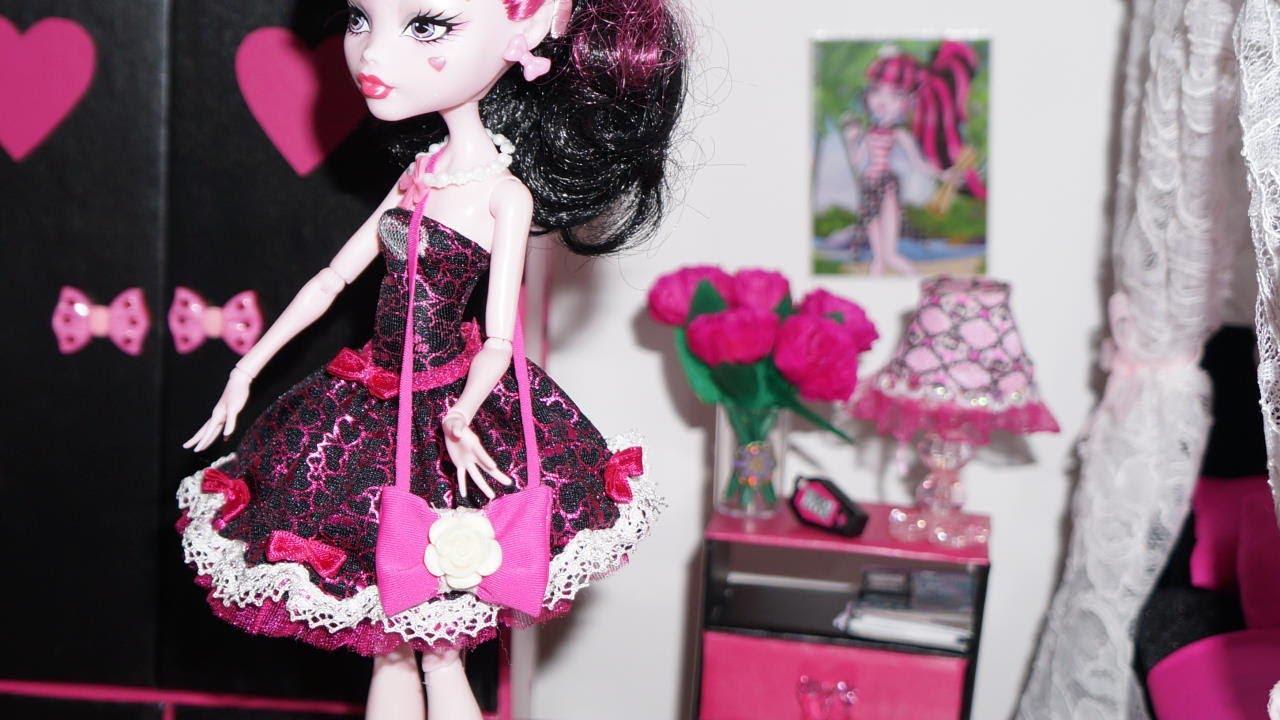 Bolsa De Festa Retro : Como fazer bolsa para boneca monster high barbie e etc
