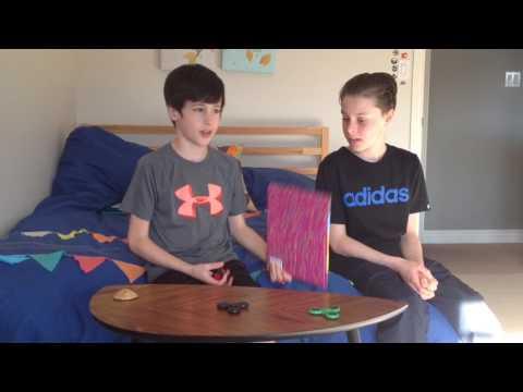 Fidget Spinner Toy demo