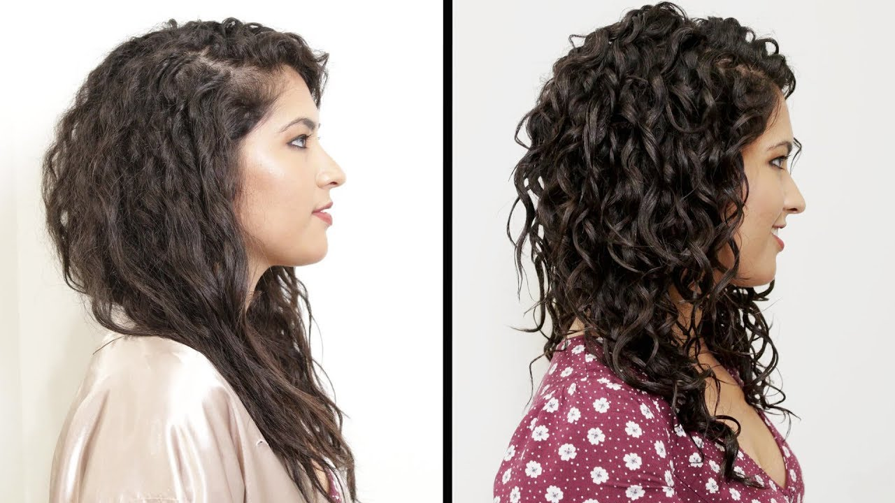 Women With Curly Hair Perfect Their Curls Youtube