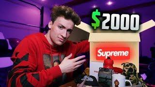 DESCHID UN MYSTERY BOX SUPREME DE $2000 ! (giveaway)