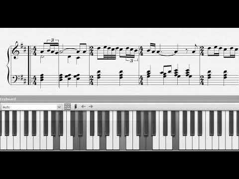 Piano Sheet Music Gabriel´s Oboe ( Ennio Morricone )