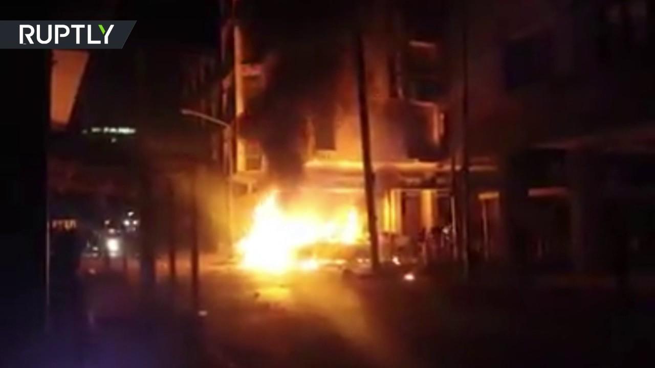 Car bomb rocks Tripoli near Italian embassy, 2 dead