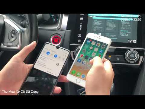 How to Connect Using Honda Civic Screen 2017 2018 2019 2020 With Usb Video Phone, HDMI