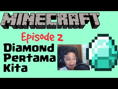 Minecraft Indonesia - Diamond Pertamax - Survival Eps.2 - 동영상