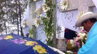 danzas y costumbre en cerro sagrado de tenango de doria