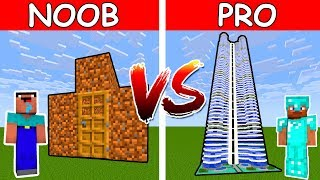 Monster School: NOOB vs PRO CHALLENGE - Minecraft Animation