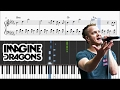 Imagine Dragons - Believer - Piano Tutorial + SHEETS video & mp3