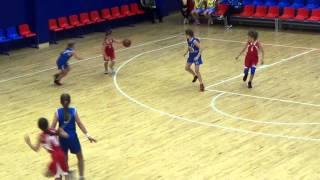 Первенство Санкт-Петербурга по мини баскетболу девочки 2004-2005 год