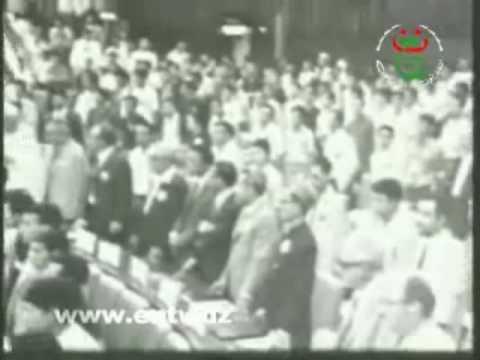 Moufdi Zakaria - Messali Hadj -  الى في سبيل الاستقلال والحرية.