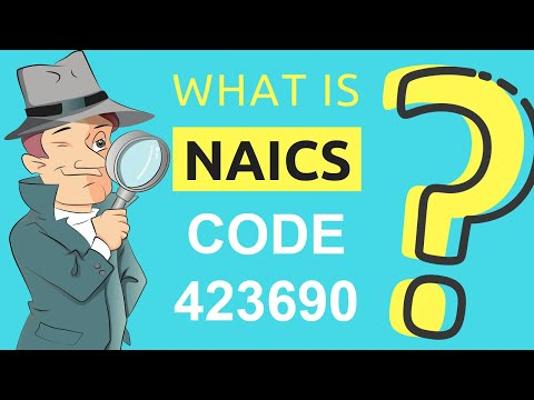 What Is NAICS Code 423690? | Class Codes