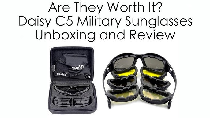 fe80b126801 Are They Worth the  40 Price  - Daisy C5 USA Military Sunglasses ...