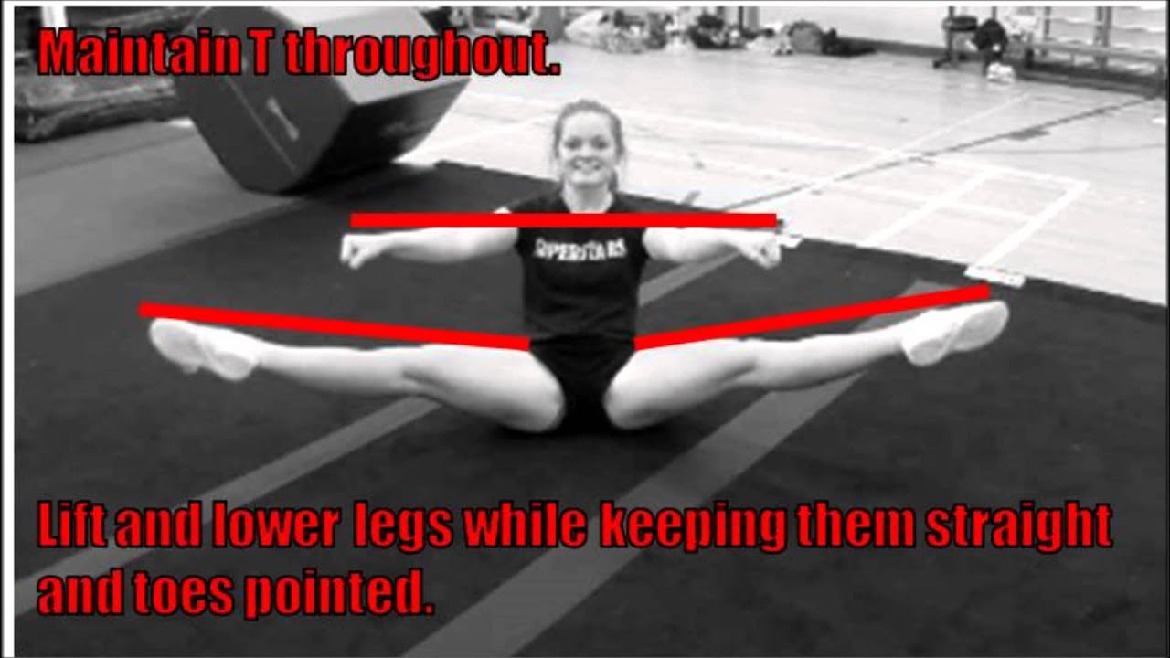 How to Do a Toe Touch Jump