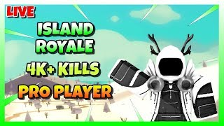 🔴 ROBLOX ISLAND ROYALE 🌴 | R$ GIVEAWAY AT 600 SUBS 🔥 | LATE CHILL STREAM ❄️ | 😱 PRO PLAYER 🔴