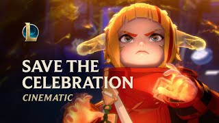 Save the Celebration | Lunar Beast 2021 Cinematic - League of Legends