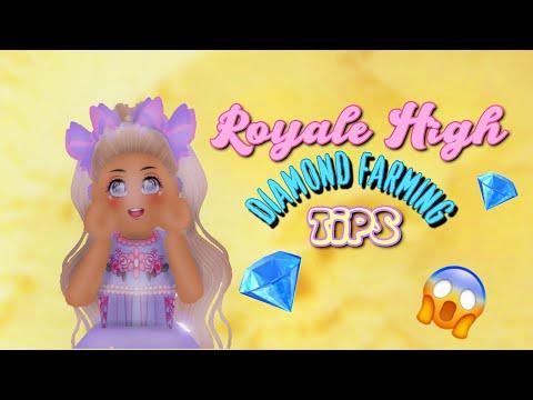 ROBLOX ROYALE HIGH DIAMOND FARMING TIPS 2019