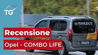 Review Opel COMBO LIFE (ITA) - TG Trentino Motori HD   Puntata 1- St. 2