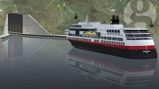 World's first tunnel for ships to be built in Norway