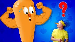 Полезная морковка D Billions Детские Песни