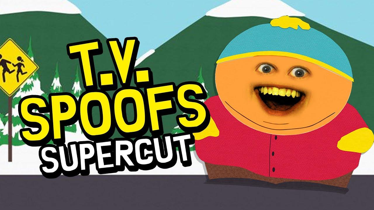 Annoying Orange - TV Spoofs Supercut!!