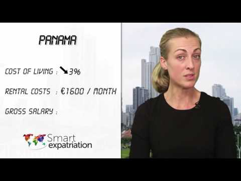 Panama - Cost of Living, Rental Costs & Gross Salary