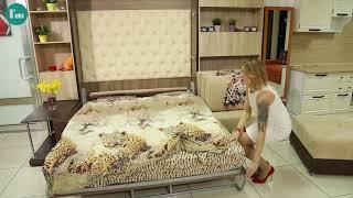 Шкаф кровать с диваном Сицилия от интеллект мебель.рф www.интеллект мебель.рф