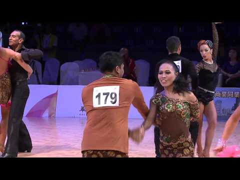 World DanceSport Games 2013 Kaohsiung I Day3 I Caribbean Dances R1