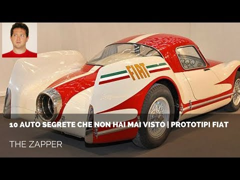 10 AUTO SEGRETE che non hai mai visto - Prototipi FIAT | The Zapper