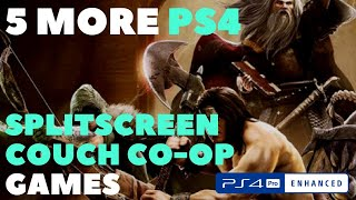 5 More PS4 Split Screen + Couch Co-Op Games