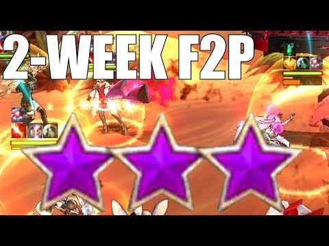 CRAZY! Kings Raid - Hell Mode Farming (2 Week F2P Progress)