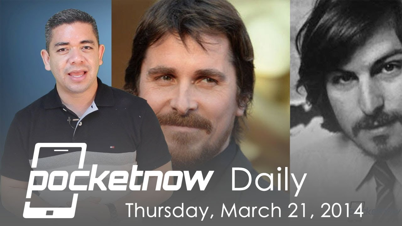 Christian Bale as Steve Jobs, HTC One countdown, AT&T GS5 & more - Pocketnow Daily