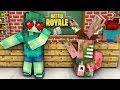 Monster School : GIRLS LOVE FORTNITE DANCE CHALLENGE - Minecraft Animation
