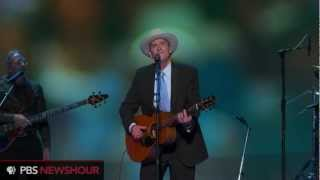 Singer/Songwriter James Taylor Performs at Democratic National Convention