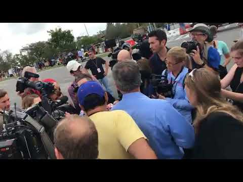 Scenes in the morning from Richard Spencer event - Video by Gainesville Sun