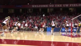 2013 Wisconsin Volleyball Highlights