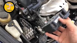 Video How to fix a 2007 Toyota Camry ABS and Brake light and also flickering speedometer download MP3, 3GP, MP4, WEBM, AVI, FLV Juli 2018