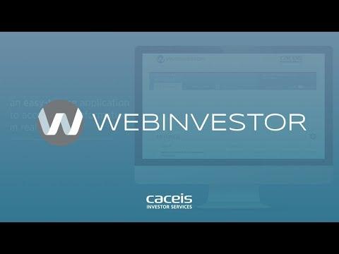 WebInvestor, a fund distribution application made for investors