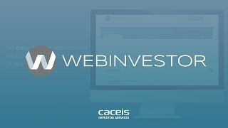 WebInvestor, a fund distribution application made for investors