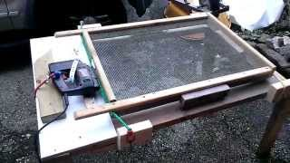 Dirt Sifter Shaker Table
