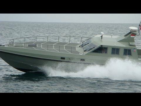 Vitesse Mark II Combat Interceptor Boat - RAF Boats - TNI AL - Indonesia Navy