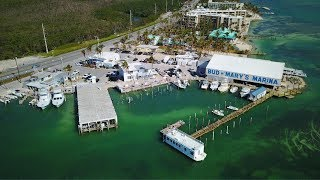 Three Months after Hurricane Irma, Florida keys