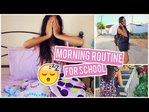 Morning Routine for School ♡