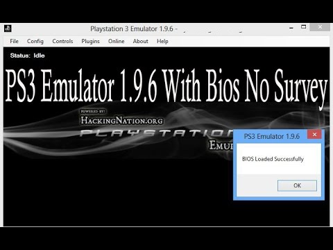 ps3 emulator 1.9.4 bios