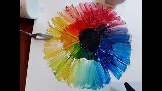 Part 2 Colour Magic   How to make a colour wheel